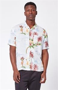 PacSun Paradise Short Sleeve Button Up Camp Shirt
