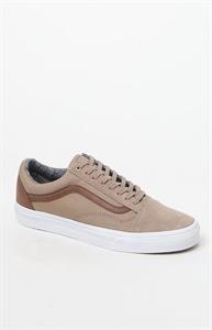 Vans Khaki C&L Old Skool Shoes