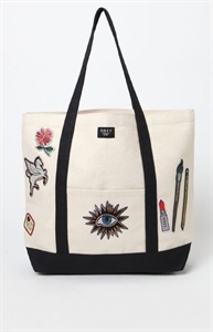 OBEY Dope Patches Canvas Tote Bag