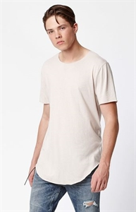 PacSun Polynices Raw Extended Length T-Shirt