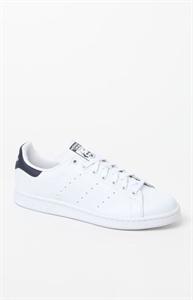 adidas Stan Smith White & Blue Shoes