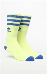 adidas Roller Yellow & Blue Crew Socks