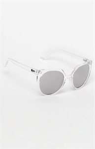 Quay Give And Take Clear Sunglasses