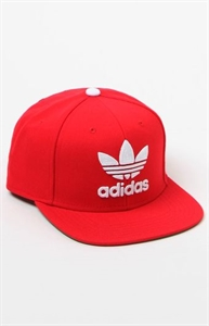 adidas Thrasher Red Snapback Hat