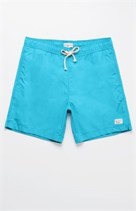 "Modern Amusement Oliver Solid Color 18"" Swim Trunks"
