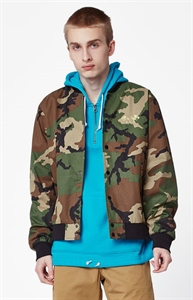 HUF Kingston Camouflage Bomber Jacket