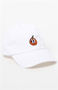 Valley Cruise Orange Strapback Dad Hat