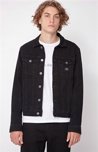 Calvin Klein Denim Black Trucker Jacket