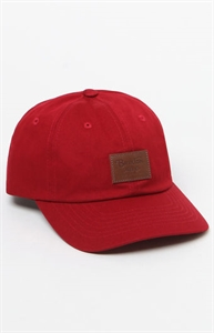 Brixton Grade Red Strapback Dad Hat