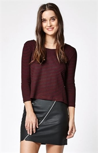 RVCA With Ease Stripe Swing Top