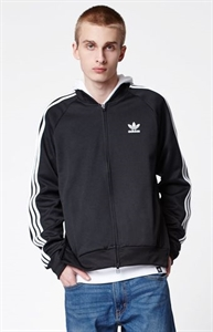 adidas Superstar Black & White Relaxed Track Jacket