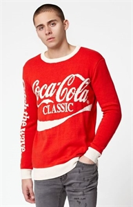 Junk Food Coca-Cola Crew Neck Sweater