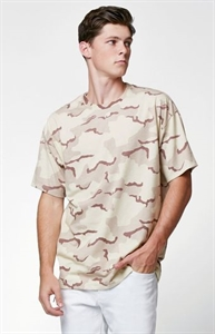 PacSun Jesus Camo Relaxed T-Shirt