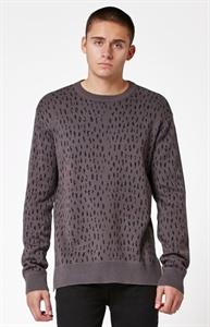 Modern Amusement Delany Cheetah Crew Neck Sweater