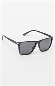 Varsity Black Woodgrain Sunglasses