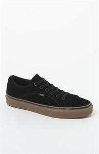 Vans Suede Black & Gum Lampin Shoes