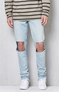 PacSun Stacked Skinny Light Indigo Flex Stretch Jeans