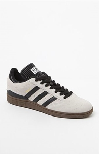 adidas Busenitz Pro White & Gum Shoes