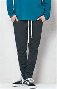 PacSun Drop Skinny Black Fleece Jogger Pants