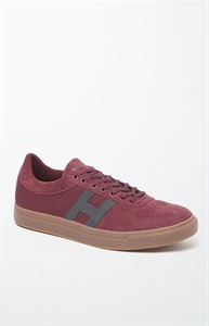 HUF Burgundy Soto Shoes