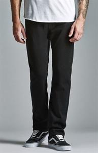 Bullhead Denim Co. Black Twill Slim Jeans