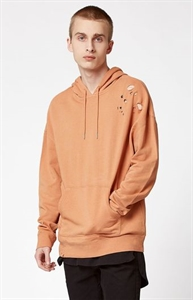 PacSun Berens Destroyed Relaxed Pullover Hoodie