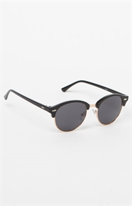 Small Fifty-Fifty Round Sunglasses