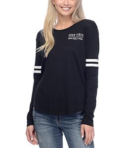 Empyre Stefan Black Mesh Long Sleeve T-Shirt