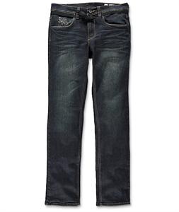 Empyre Skeletor Highway Blue Skinny Fit Jeans