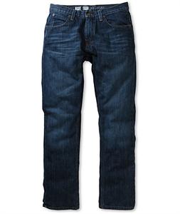 Free World Night Train Medium Blue Tint Regular Fit Jeans