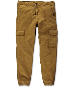 Empyre Freight Tobacco Cargo Twill Jogger Pants
