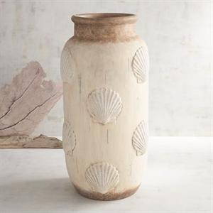 Scalloped Shell Vase