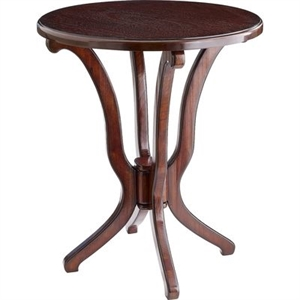 Daffodil Brown Accent Table