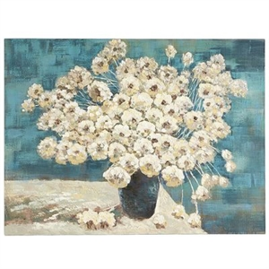 Blanched Peonies Art
