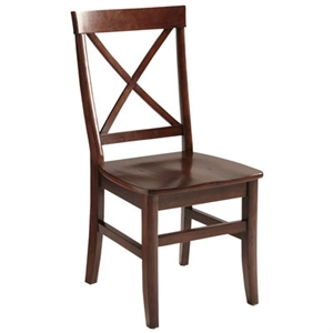 Torrance Mahogany Brown Dining Chair