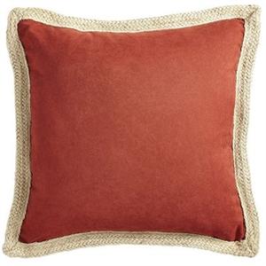 Calliope Jute Trim Spice Pillow