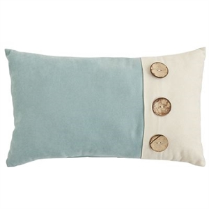 Calliope Button Maui Lumbar Pillow