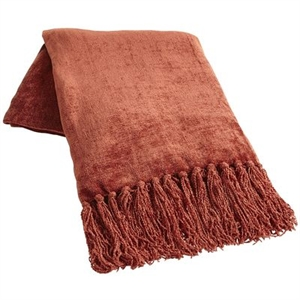 Clay Chenille Throw