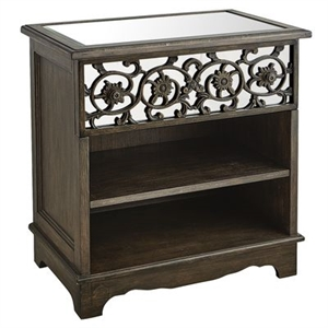 Adeline Mirrored Nightstand
