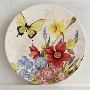Floral Bouquet Salad Plate