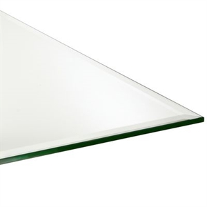 "Beveled-Edge 42"" Square Table Top"