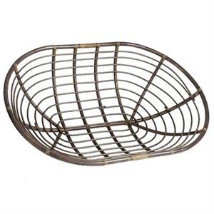 Papasan Taupe Chair Bowl