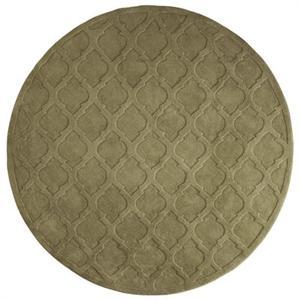 Moorish Tile Sage 3' Round Rug