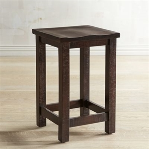 Parsons Tobacco Brown Backless Counter Stool