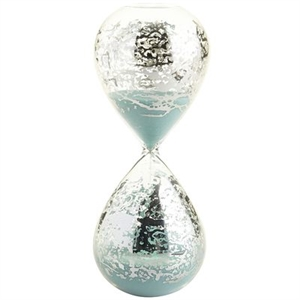 Antiqued Hour Glass