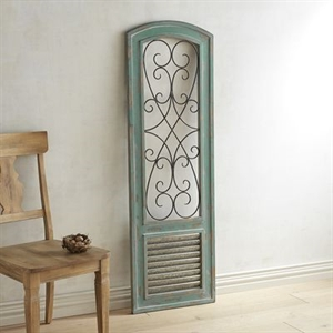Teal Chateau Wall Panel