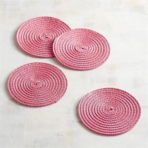 Mesa Pink Coaster Set of 4