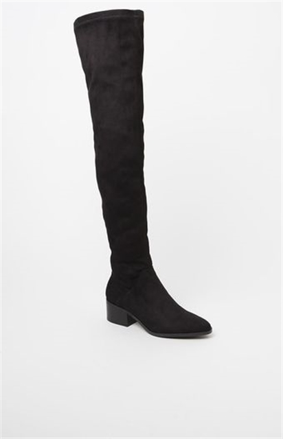 1e1b28b3bee Steve Madden Gabriana Faux Suede Over-The-Knee Boots - Yorktown ...