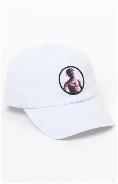Diamond Supply Co x Travis Scott Flame Head Strapback Dad Hat - Yorktown 035d68abb477