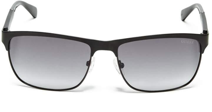 GUESS Mens Vincent Clubmaster Sunglasses